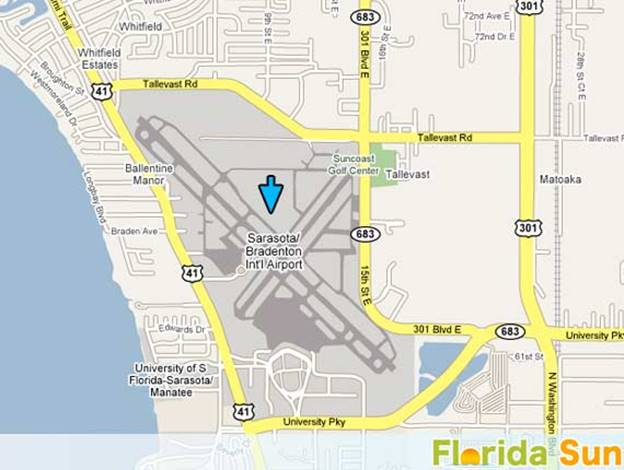 Where is the Airport Located - Sarasota-denton International ... on